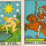 Knight of Wands Star